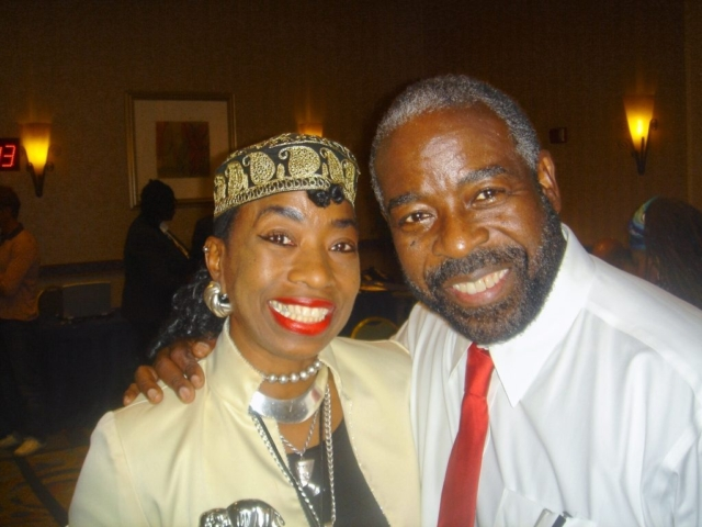 Les Brown & Marcia Harris (NSA conference), Washington, DC